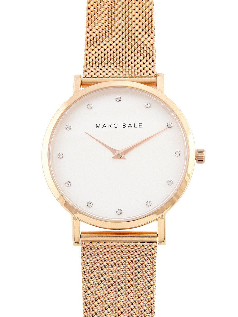 Rose Gold Crystal - Nato Strap - Classic