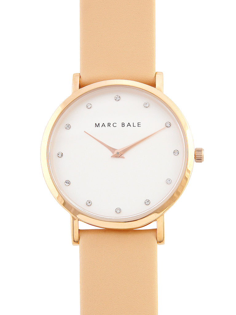 Rose Gold Crystal - Rose Gold Mesh - Classic