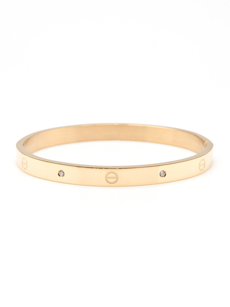Urban Hardware Bangle - Gold 1
