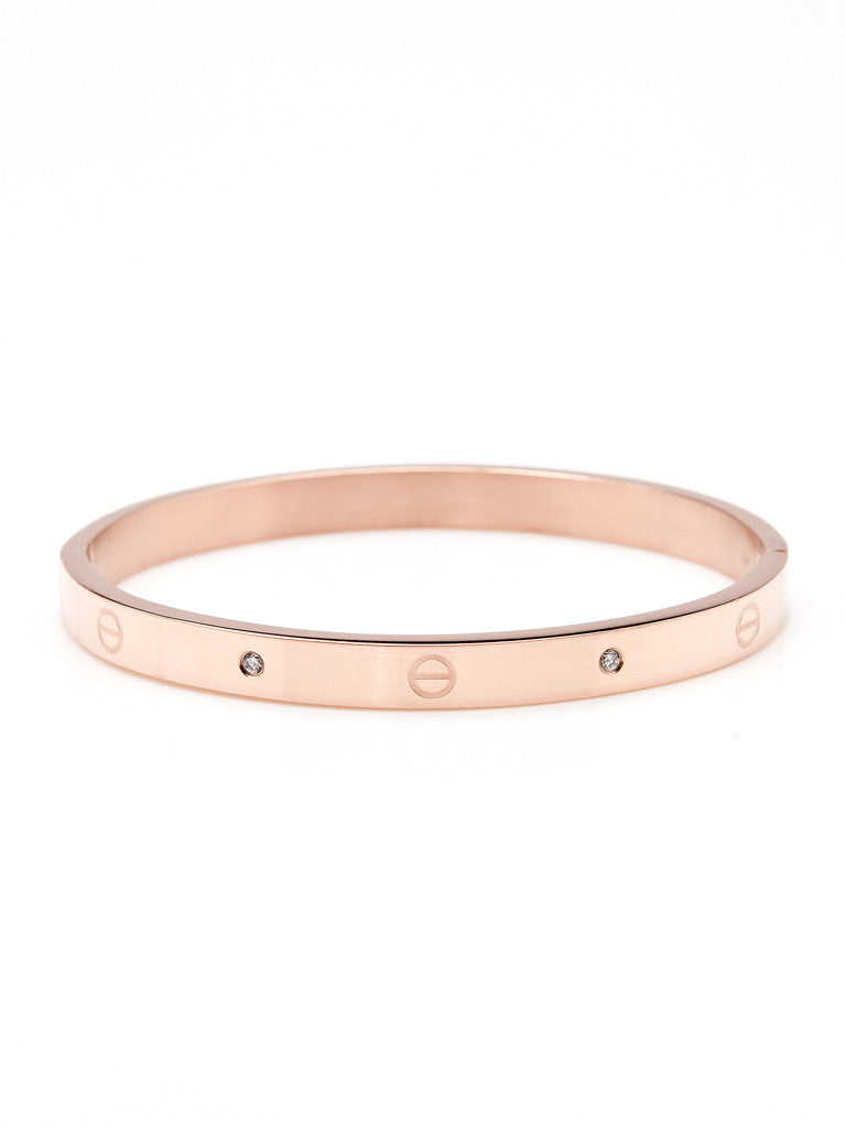 Urban Hardware Bangle - Rose Gold 1