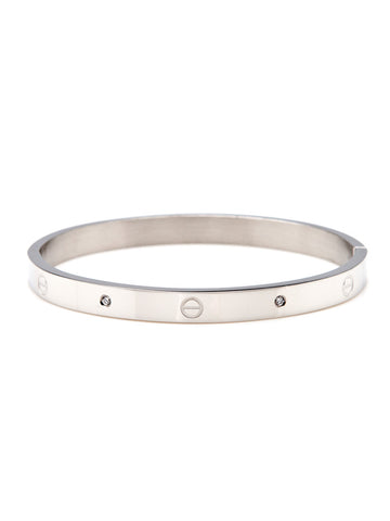 Urban Hardware Bangle - Silver 1