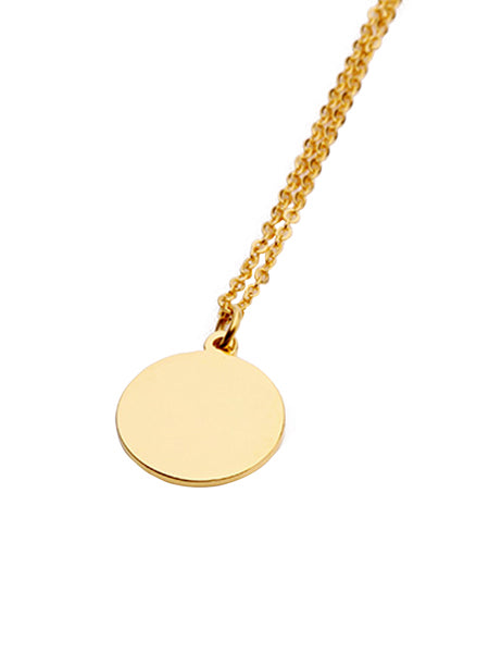 Cleo Coin Necklace - Gold