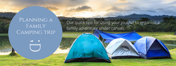 Organising a family camp trip