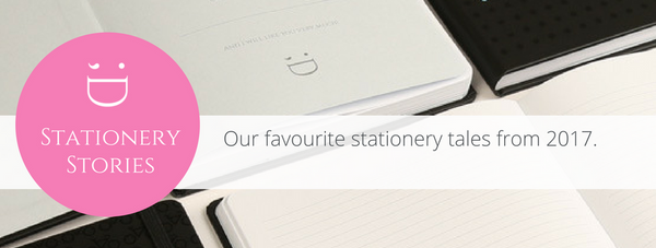 Our favourite stationery stories from 2017