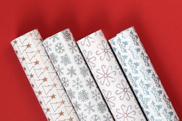 Image of all Christmas wrapping paper designs