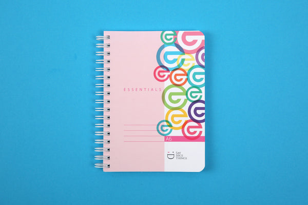 Image of Essentials A6 notebook in Candy colours