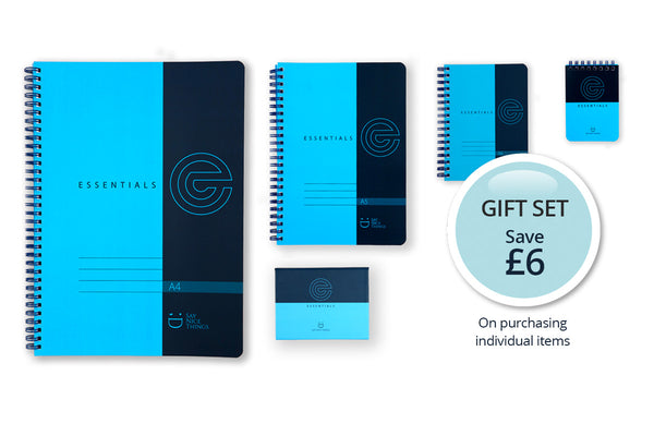 Save £6 by purchasing the complete Essentials range as a Gift Set