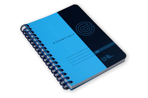 Image of A6 Essentials Notebook on a flat surface