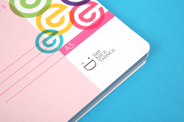 Essentials A5 Notebook - Candy