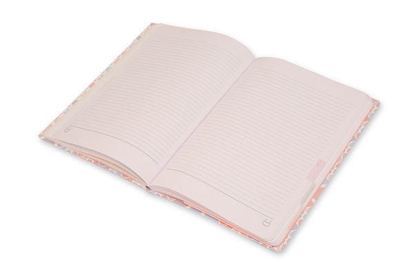 Image showing Clover A5 Journal open with lay flat binding