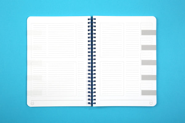 Image showing planning pages of A5 Essentials notebook