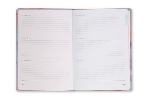 Image of Crystal A5 Journal index pages