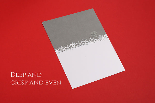 Image of Deep and Crisp and Even Christmas card
