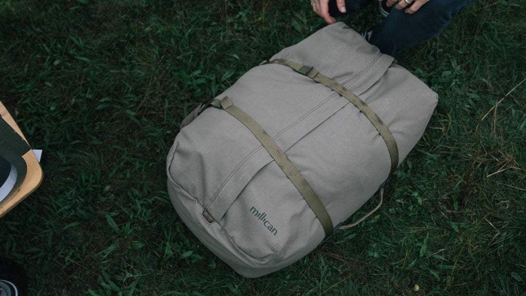 Miles the Duffle Bag 60L available now at Millican