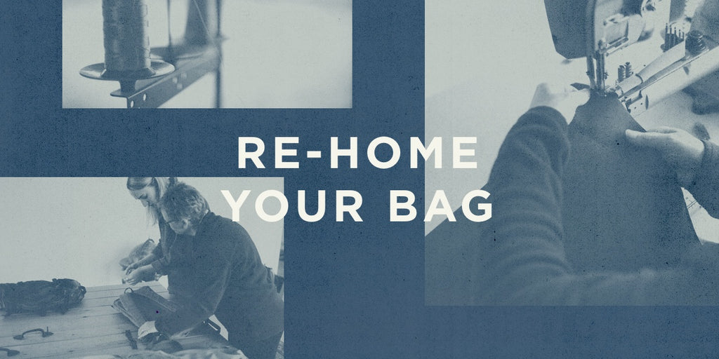 Re-home your bag. Millican.