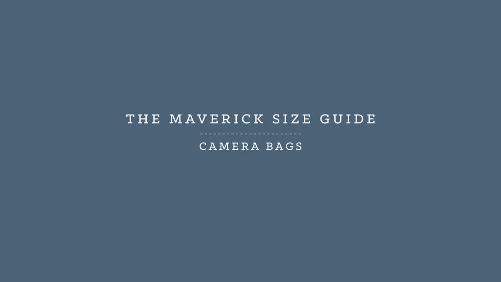Millican HQ | Maverick Size Guide<br />Camera Bags