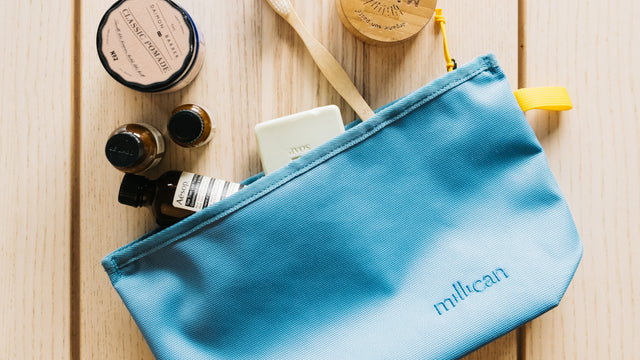 Core Wash Bag available now at Millican