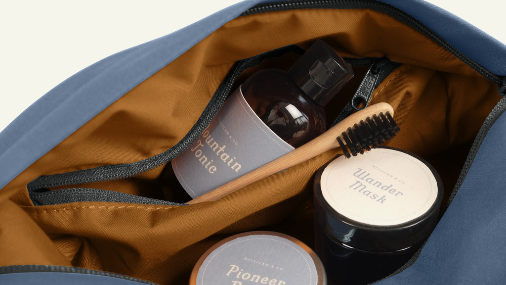 Miles the Wash Bag available now at Millican