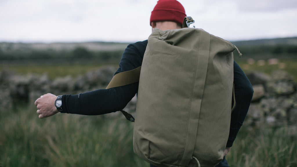 Behind The Seams | Miles The Duffle Bag (40L)