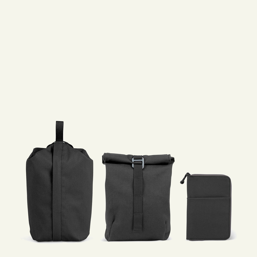 Travel Bundle | Maverick Accessories Set | Graphite available from Millican