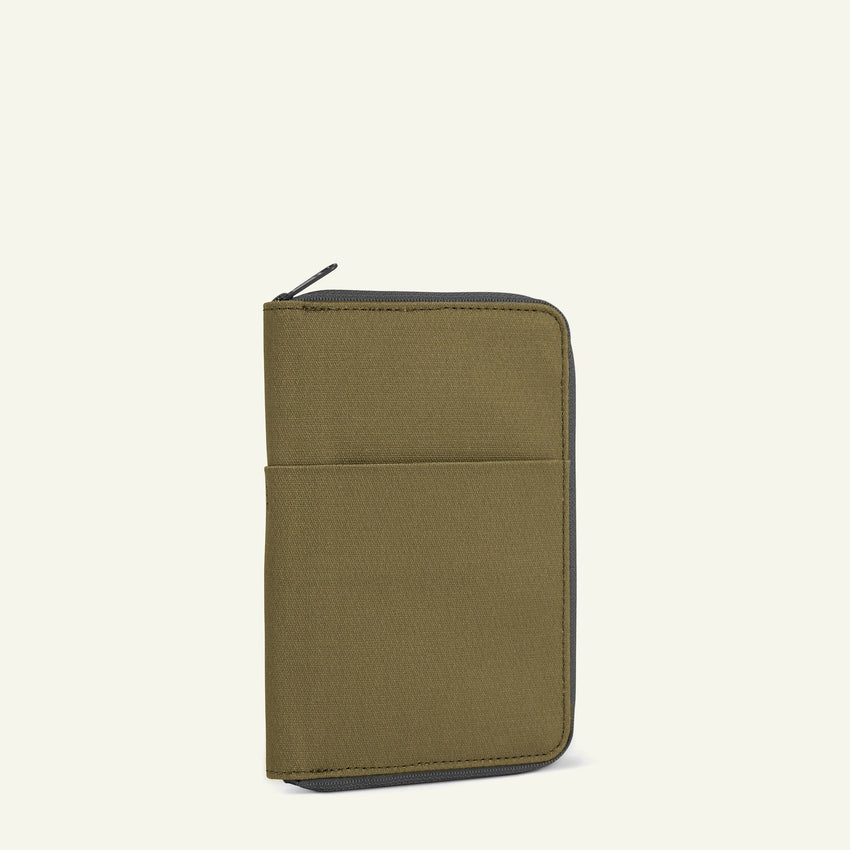 The Mavericks | Powell | The Travel Wallet (Moss) available from Millican