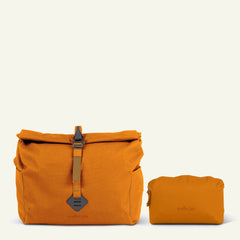Travel Bundle | Bowden the Camera Messenger Bag (Ember) available from Millican