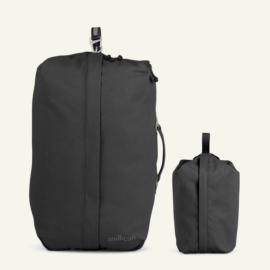 Travel Bundle | The Seasoned Traveller <br/>Miles the Duffle Bag 28L (Graphite Grey)