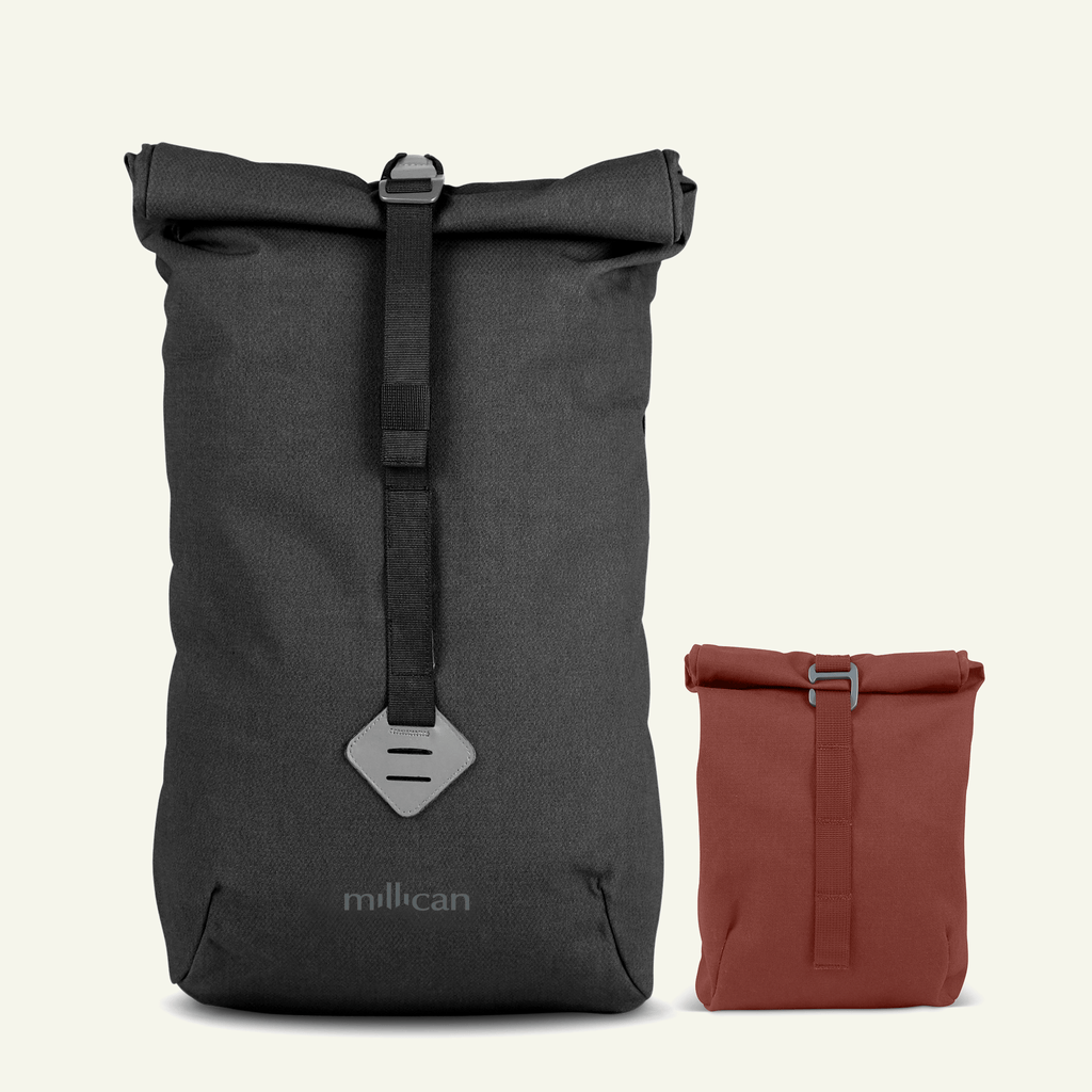 Travel Bundle | The Urban Explorer <br/> Smith The Roll Pack 15L (Graphite Grey + Rust)