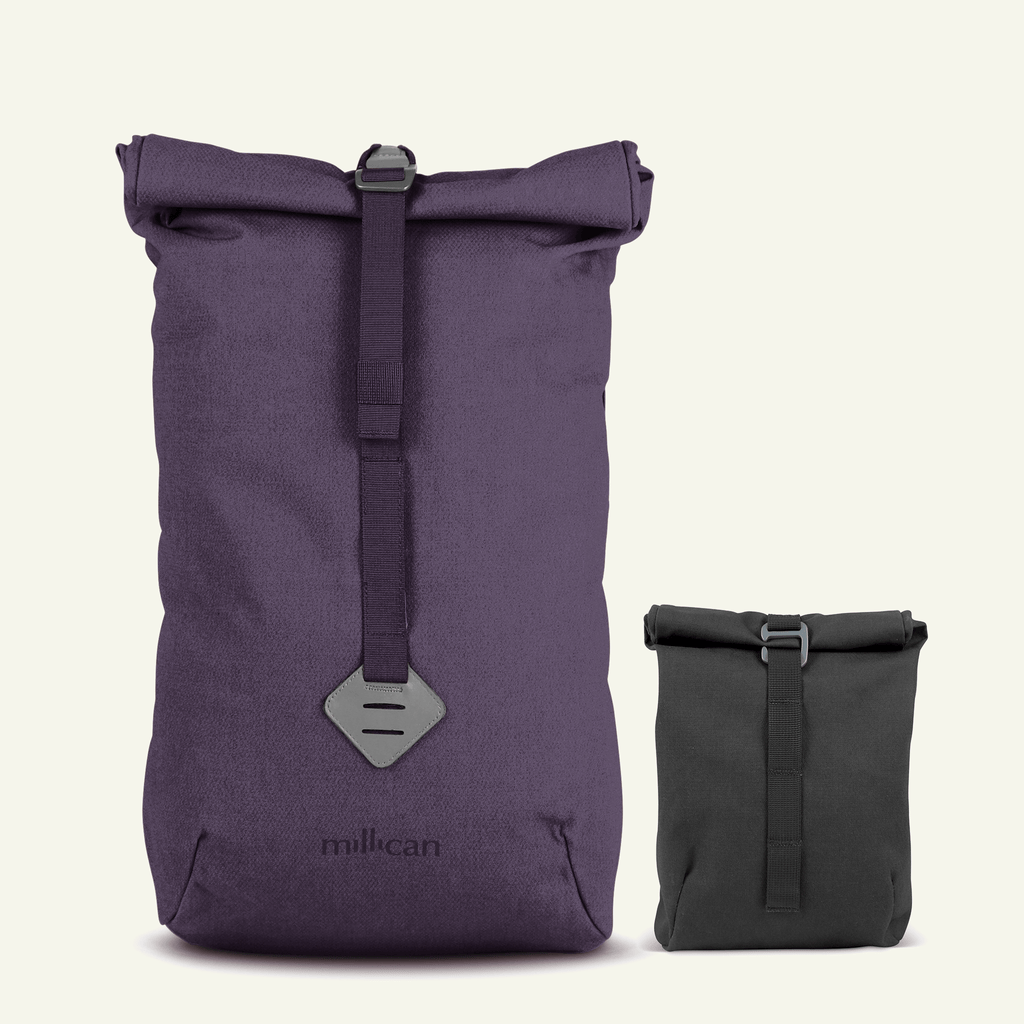 Travel Bundle | The Urban Explorer <br/> Smith The Roll Pack 15L (Heather + Graphite)