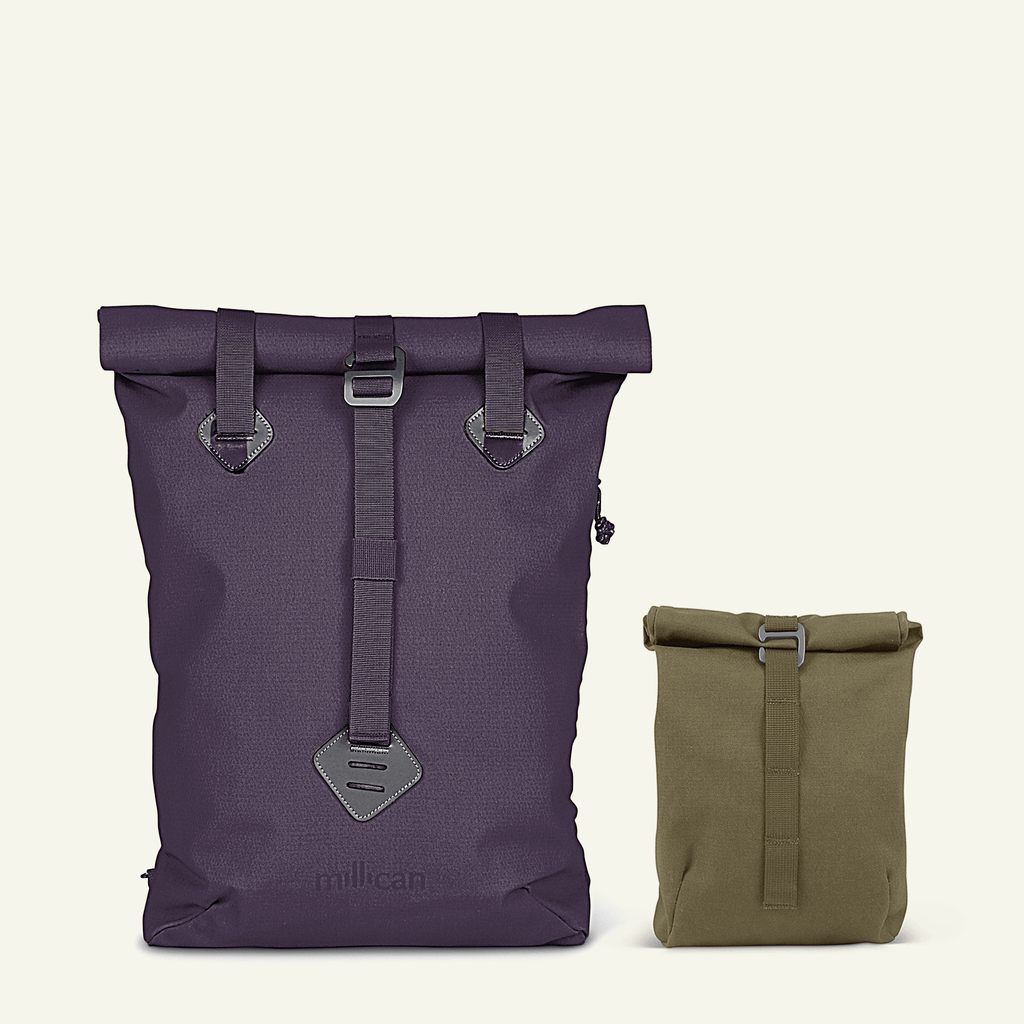 Travel Bundle | The Seasoned Traveller <br/>Tinsley The Tote Pack 14L (Heather + Moss)