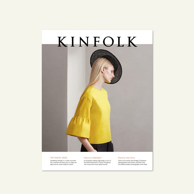 Kinfolk | Vol. 20 | The Travel Issue available from Millican