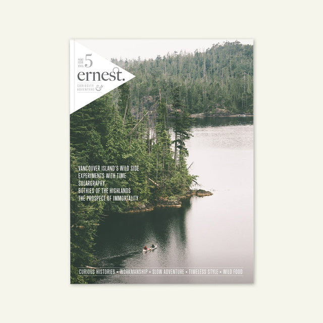 Ernest Journal | Issue 5 available from Millican