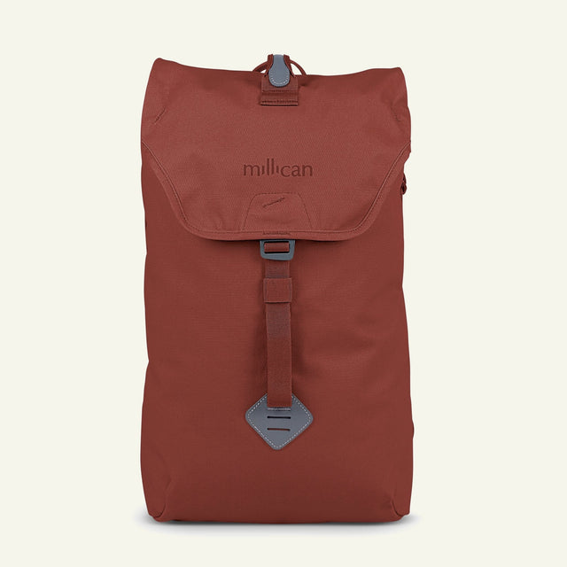 The Mavericks | Fraser | The Rucksack 18L (Rust) available from Millican