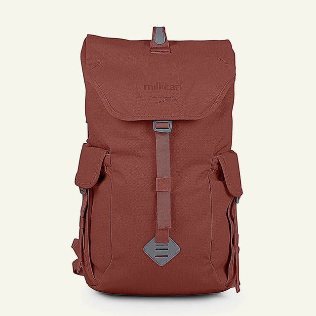 The Mavericks | Fraser | The Rucksack 25L (Rust) available from Millican