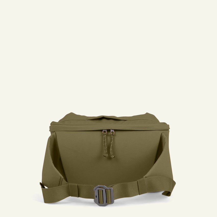 The Mavericks | The Camera Insert & Waist Bag 5L (Moss) available from Millican