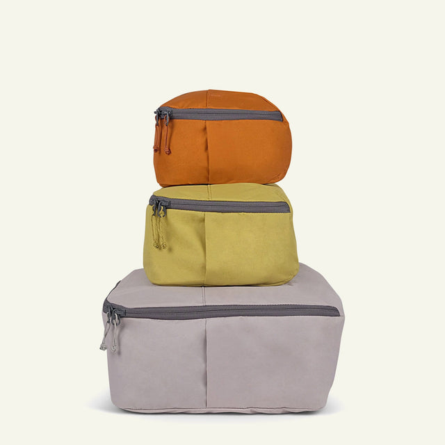 The Mavericks | Packing Cubes (Set of 3) available from Millican