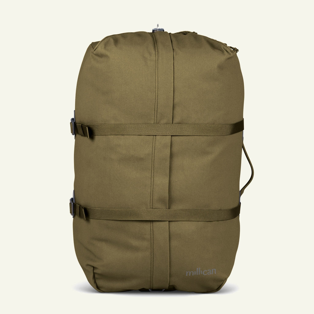 The Mavericks | Miles | The Duffle Bag 60L (Moss) available from Millican