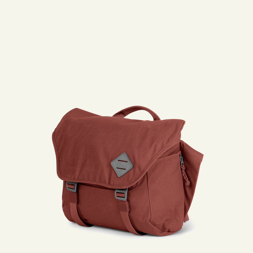 The Mavericks | Nick | The Messenger Bag 13L (Rust) available from Millican
