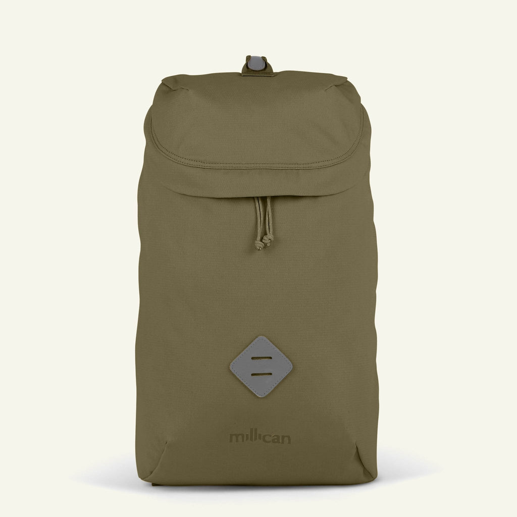 The Mavericks | Oli | The Zip Pack 18L (Moss) available from Millican