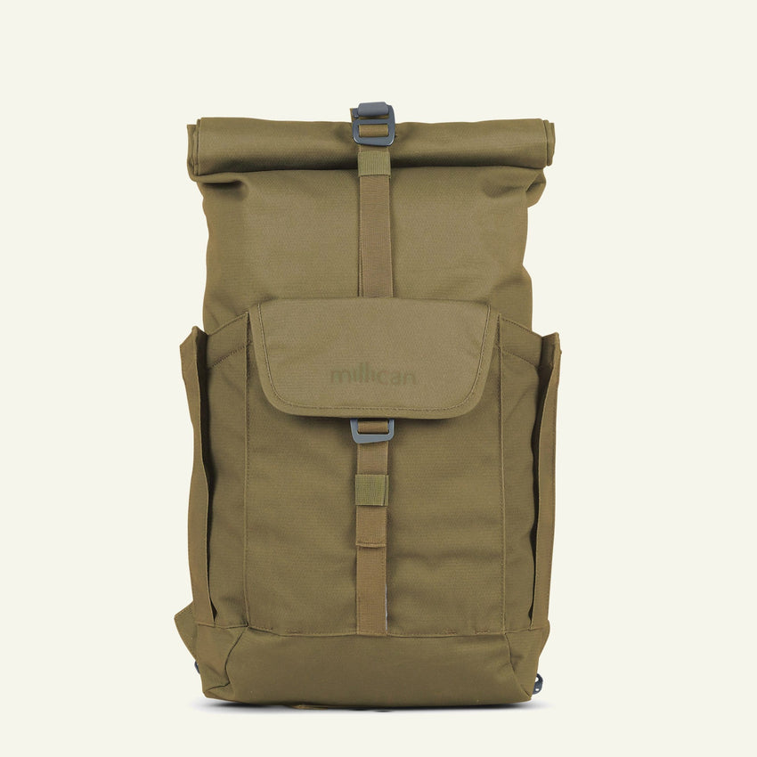 The Mavericks | Smith | The Roll Pack 15L - With Pockets (Moss)