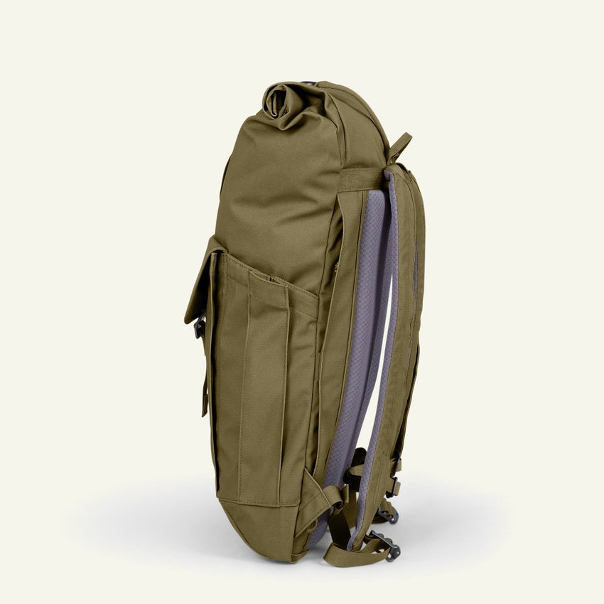 The Mavericks | Smith | The Roll Pack 15L - With Pockets (Moss) available from Millican