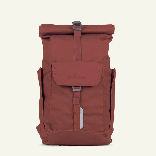 The Mavericks | Smith | The Roll Pack 15L - With Pockets (Rust) available from Millican
