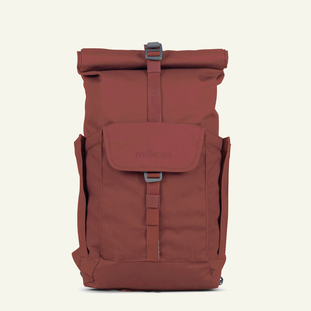 The Mavericks | Smith | The Roll Pack 15L - With Pockets (Rust)