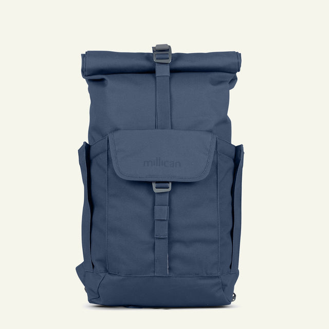 The Mavericks | Smith | The Roll Pack 15L - With Pockets (Slate) available from Millican