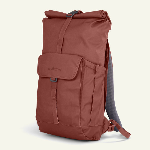 The Mavericks | Smith | The Roll Pack 25L (Rust) available from Millican