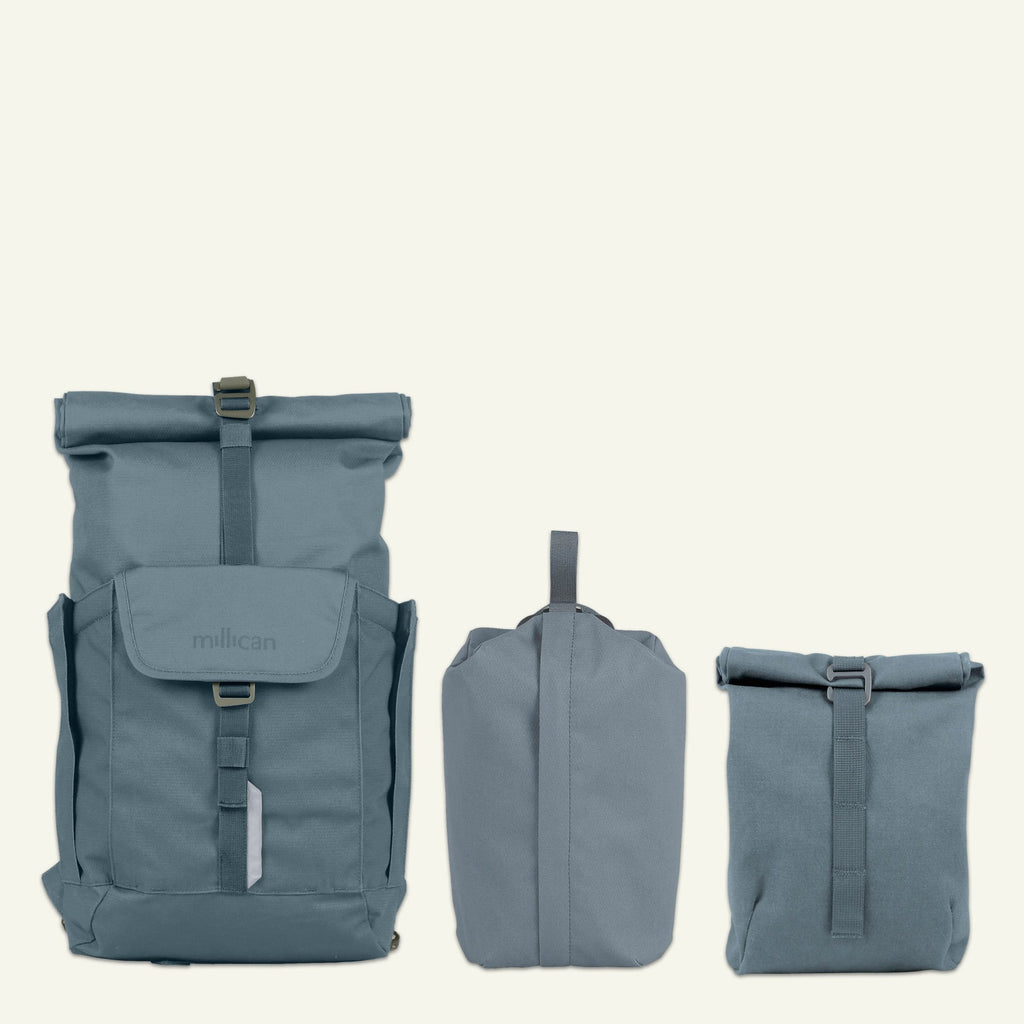 Everyday Adventurer | Smith the Roll Pack 15L - With Pockets (Tarn) available from Millican