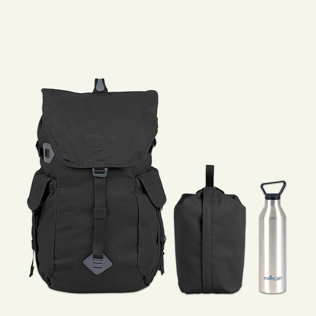 Lakeland Hiker | Fraser the Rucksack 32L (Graphite Grey) available from Millican