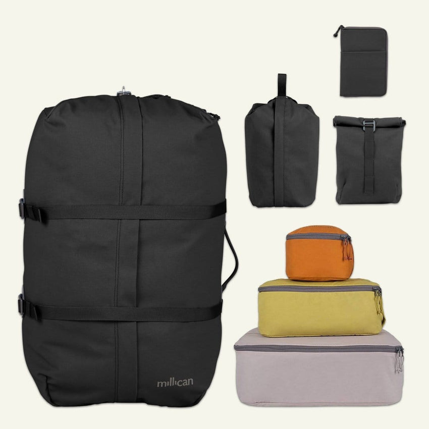 Weekend Traveller | Miles the Duffle Bag 60L (Graphite Grey)