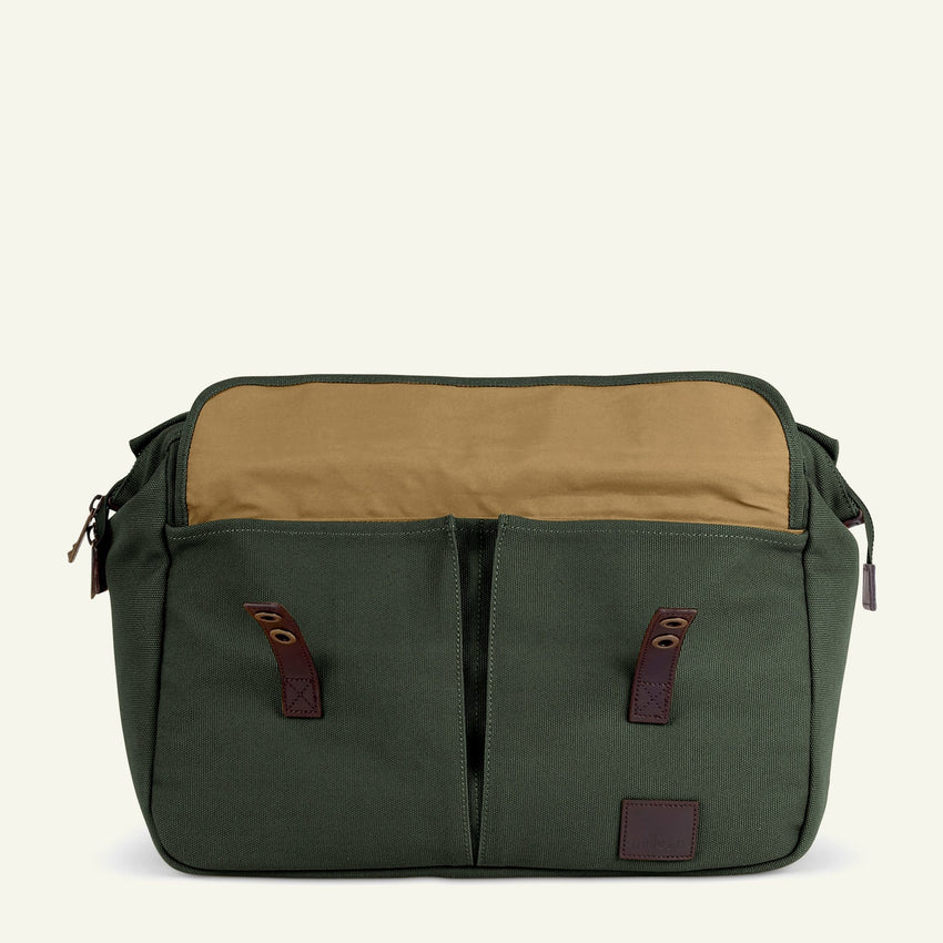 The Originals | Martin | The Briefcase 20L (Slate Green) available from Millican
