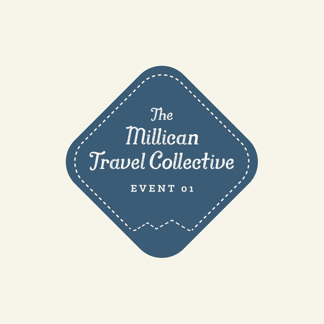 The Travel Collective | Event 01 available from Millican